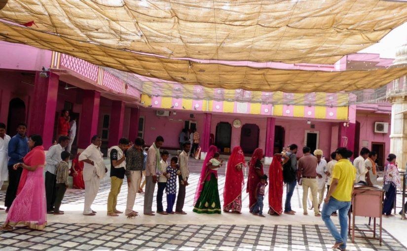 Rattentempel Karni Mata in Deshnok