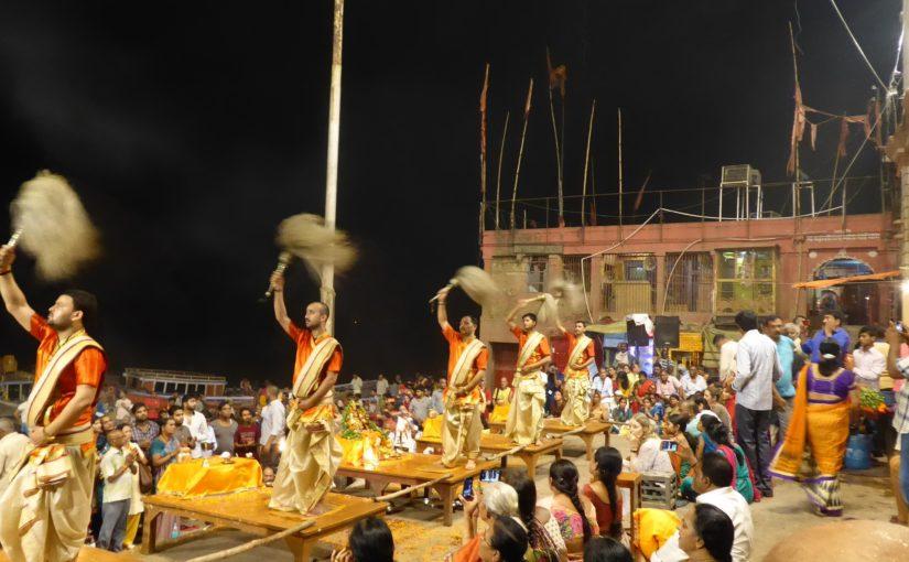 Varanasis Hinduspektakel